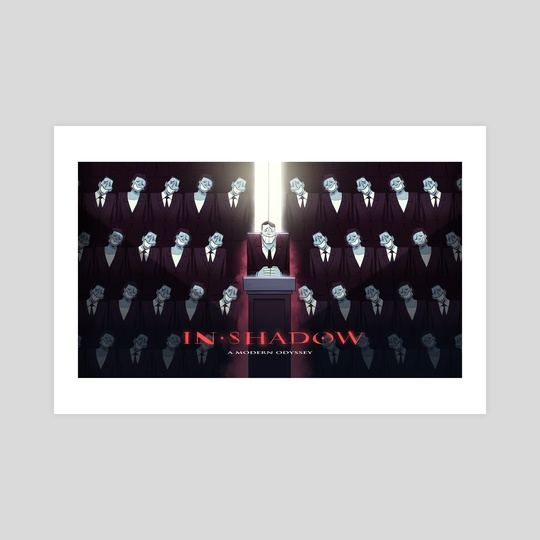 IN-SHADOW: Poster 1 by Lubomir Arsov