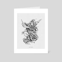 Visceral  - Art Card by The Boltzmann Fly