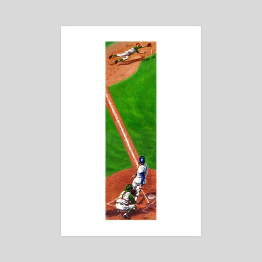 Line Drive by Harry West