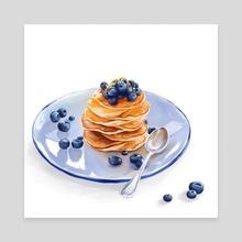Pancakes - Canvas by Mariia Gnatiuk