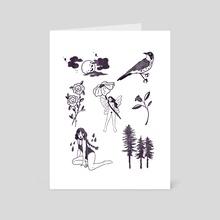 Summer - Art Card by Alison Czinkota