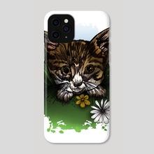 Calico Kitty - Phone Case by adam santana