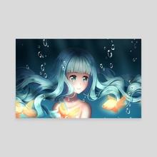 Underwater - Canvas by Orihime Studio