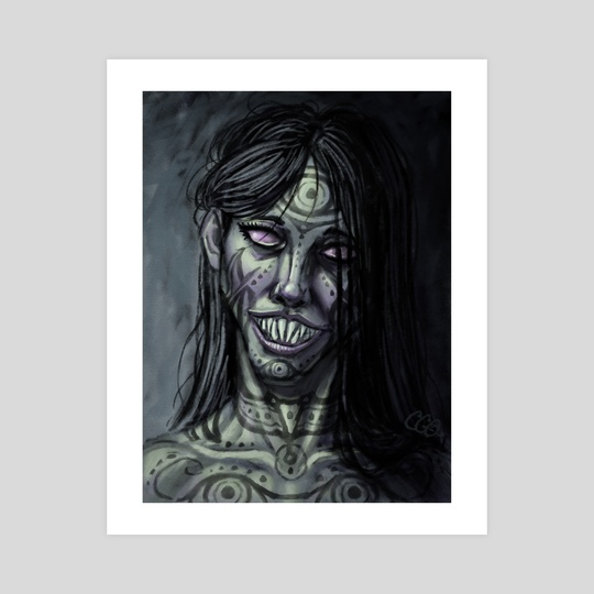 Not A Creepy Smile An Art Print By Cedric Godin Olicard Inprnt Search more hd transparent creepy smile image on kindpng. not a creepy smile by cedric godin olicard