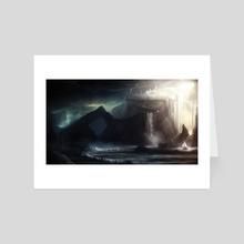 Guardians - Art Card by Alyn Spiller