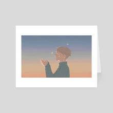 glow - Art Card by Iris Tseng