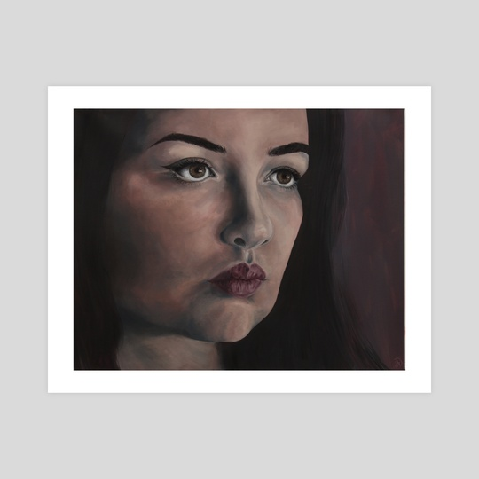 Shadow Portrait by Jamie Whitten