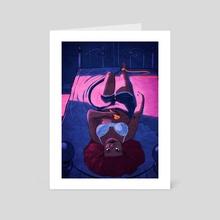 The Hanged Man - Art Card by Anne Hamlin