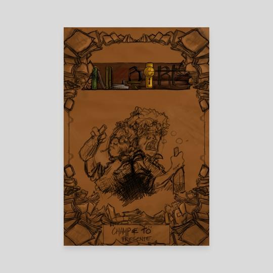 Albert - The Art book - Cover by Benjamin Fauvel