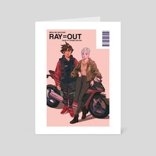 RAY=OUT SPRING EDITION - Art Card by Nelson Wu