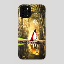 Red riding hood (version 1) - Phone Case by Harsh Aaryan