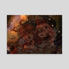 [Genshin Impact] Emergency Food - Canvas by Jazlyn