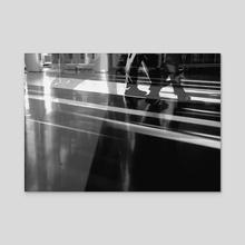 Walking Ghosts. III. - Acrylic by minkunoe
