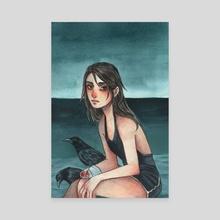 Murder of Crows - Canvas by Bella Quinn