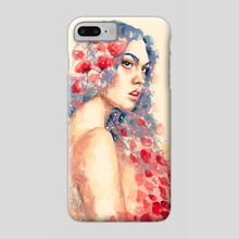 Demeter - Phone Case by Veronika Vajdová