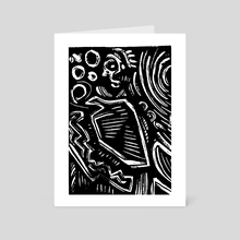War Dudes Yolo 27 - Art Card by Daniel Newman