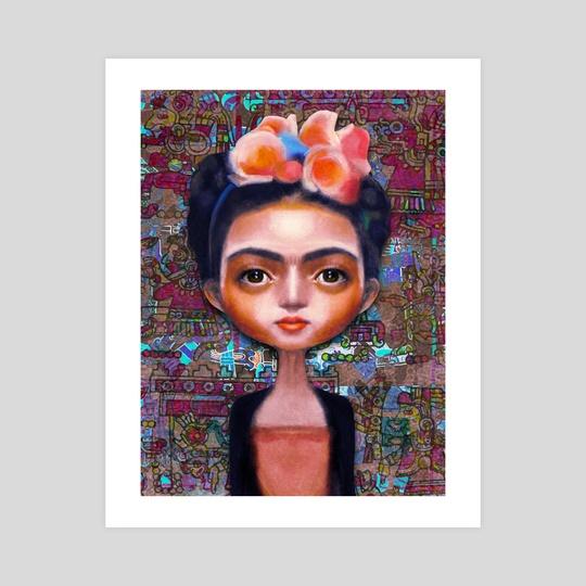 Frida Kahlo cute by Thorsten Schmitt