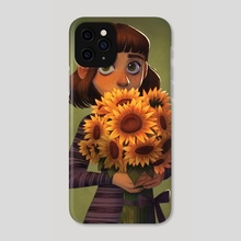 Shy - Phone Case by Alyssa Tallent