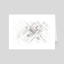 Intersecting Angles - Art Card by Demetrios Liollio