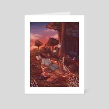 Forest Witch - Art Card by Josipa Tilošanec