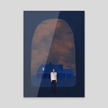 Past Life - Acrylic by Tora Crank