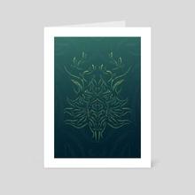 NATURE SPIRIT - Art Card by Volodymyr Horbovyi