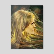Bravest - Acrylic by Svenja Gosen