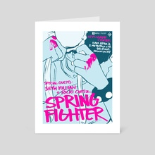 Spring Fighter 2016 - Art Card by rvsa