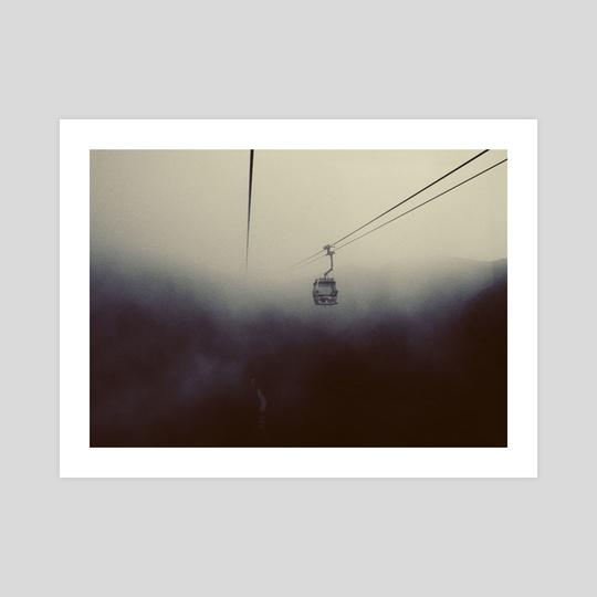 Ngong Ping's fog #1 by Calvin Sun