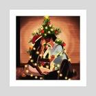 All I want for Christmas - Art Print by Diya Sengupta