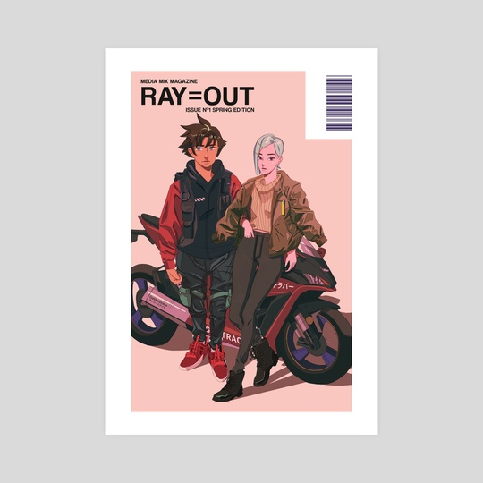 RAY=OUT SPRING EDITION by Nelson Wu