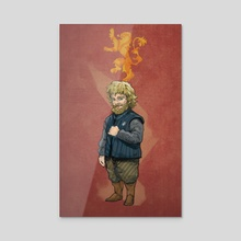 Tyrion - Acrylic by Julio Bencid