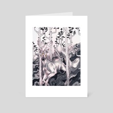 Forest Spirits - Art Card by Emily Blundell