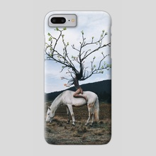 Treehair - Phone Case by Gabriel Avram
