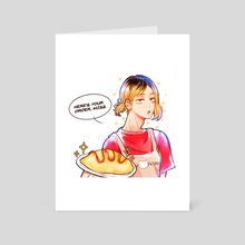 Waiter Kenma - Art Card by oumachii