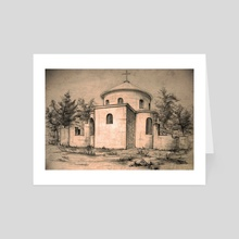 Old church | sketch - Art Card by e Drawings38