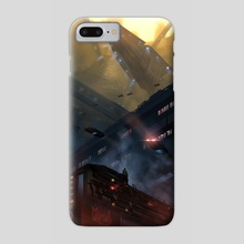 Entrance to the Undercity - Phone Case by Jacob Anderson