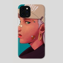 RDCR - Heads Up - Phone Case by Rico Ramadhan
