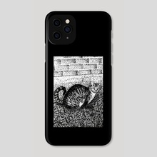El Gato - Phone Case by Kassidy Lugo