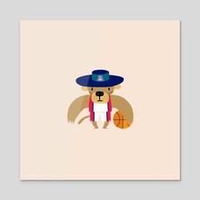 mascot / arizona - Acrylic by alex eben meyer