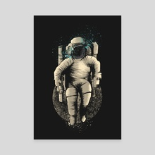 Astronaut - Canvas by Muhammad Sidik