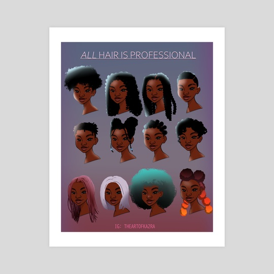 All Hair by Katura Gaines