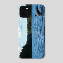 Goose and Lake - Phone Case by Sara Trejo
