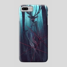 Bleu Forest - Phone Case by Vincent Belbari