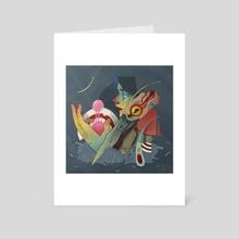 memory of you  - Art Card by Isaac Malakkai
