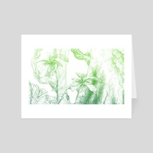 Amazonas (green version) - Art Card by Miranda Pastor