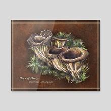 Horn of Plenty - Acrylic by Dean Lewis