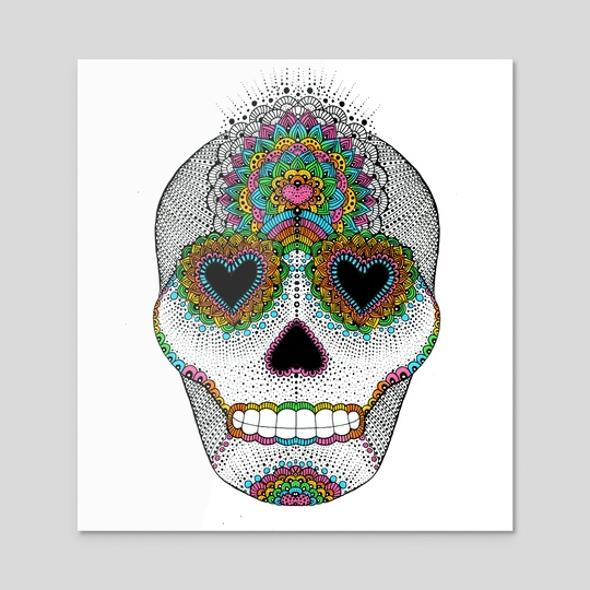 Skull Love by Luna Portnoi