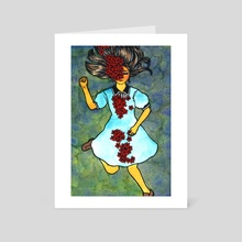 violations - Art Card by Michelle Hahm