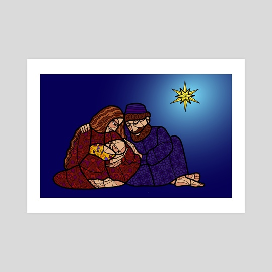 Nativity Scene by Monika Avakian